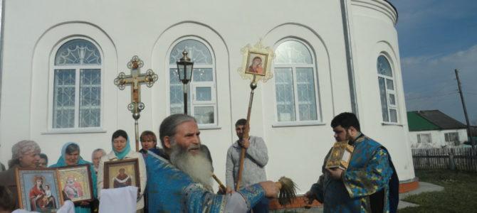 Престольный праздник в Никитиной.