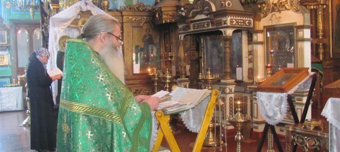 Молебен святому праведному Симеону Верхотурскому