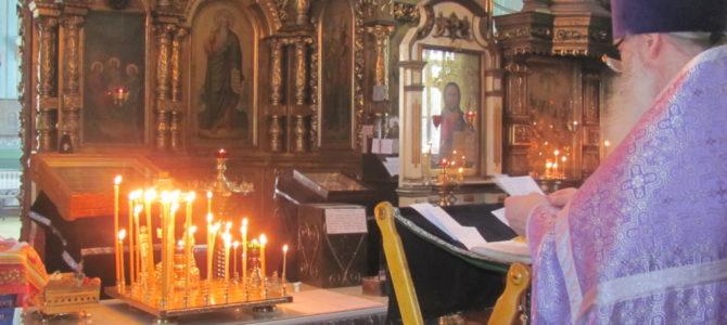 2-я Родительская суббота Великого поста в Свято-Троицком Архиерейском подворье г. Ирбит