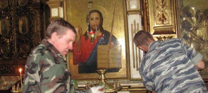 Подготовка к Пасхе в Свято-Троицком Архиерейском подворье г. Ирбит