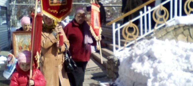 Во вторник Светлой Седмицы состоялся крестный ход.