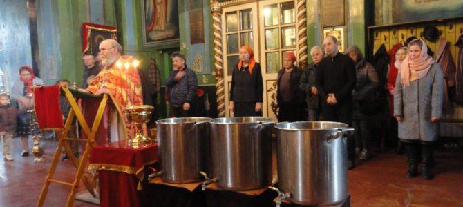 Божественная литургия в день празднования иконы Божией Матери «Живоносный Источник»