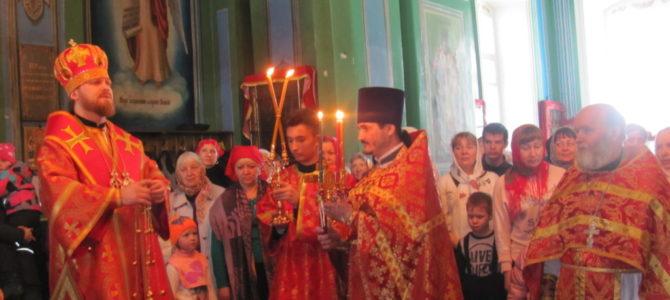 Архиерейское богослужение в День памяти святой блаженной Матроны Московской