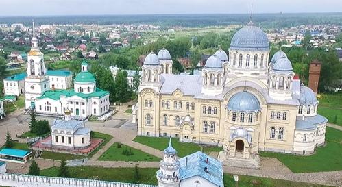Свято-Николаевский Верхотурский мужской монастырь приглашает совершить паломничество к святым мощам праведного Симеона Верхотурского