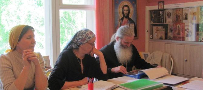 Педагоги воскресной школы в Ирбите подвели итоги работы за учебный год