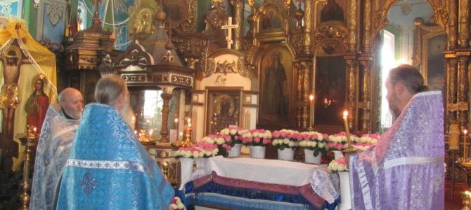 Всенощное бдение накануне Престольного праздника в Свято-Троицком Архиерейском подворье г. Ирбит
