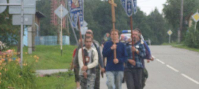 Крестный ход со списком с иконы Божией Матери Феодоровская встретили на Ирбитской земле
