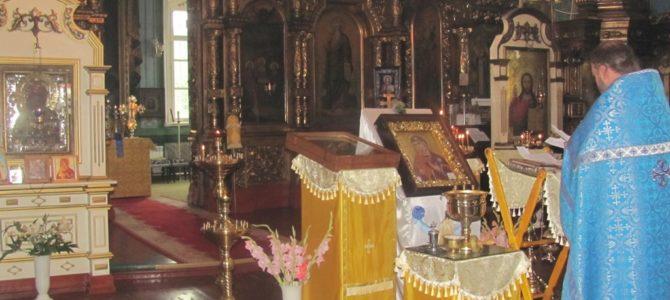 День молитвы ко Пресвятой Богородице в Свято-Троицком Архиерейском подворье г.Ирбит