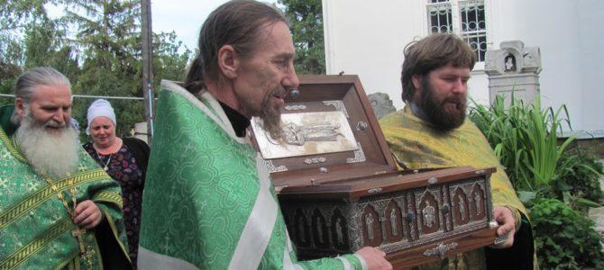 День святого праведного Симеона Верхотурского в Свято-Троицком Архиерейском подворье г. Ирбит