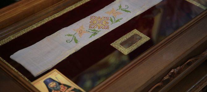 Пояс святителя Иоанна, архиепископа Шанхайского и Сан-Францисского прибывает в Ирбит