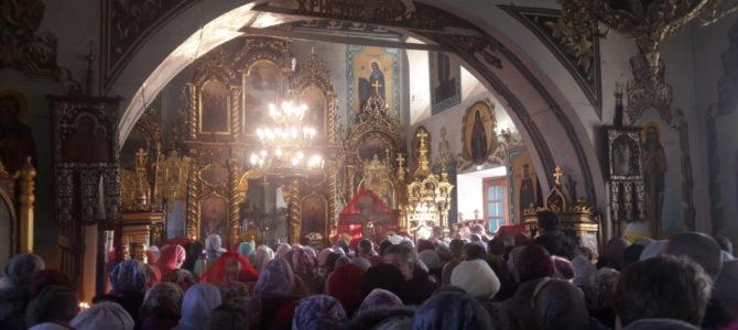 Паломническая поездка ирбитчан в с.Савино на престольный праздник храма во имя св. вмц. Параскевы Пятницы