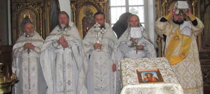 Престольный праздник Свято-Троицкого Архиерейского подворья г.Ирбит