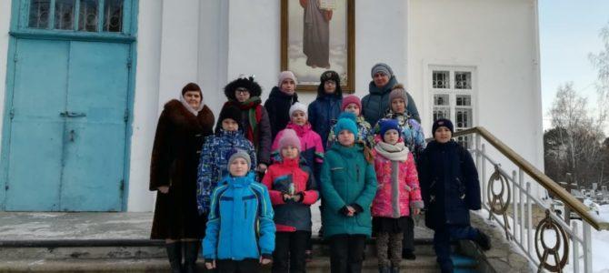 Ученики общеобразовательной школы №5 – гости Свято-Троицкого Архиерейского подворья г.Ирбит