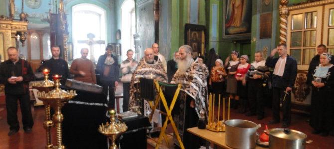 Таинство Соборования состоится в понедельник 9 и 16 декабря