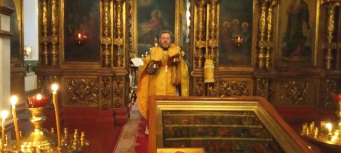 Божественная литургия в день памяти святителя Спиридона Тримифунтского