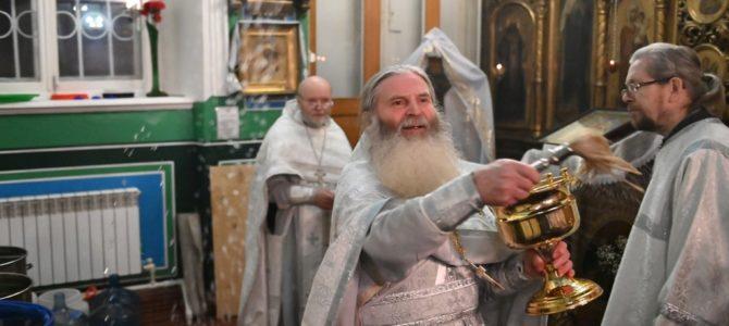 Праздник Крещения Господня в Свято-Троицком Архиерейском подворье г.Ирбит