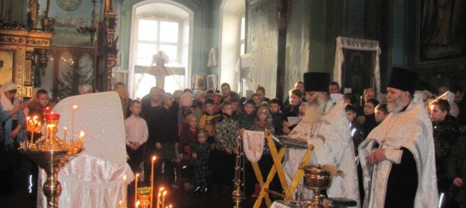 Рождественская встреча поколений  в Свято-Троицком Архиерейском подворье г.Ирбит