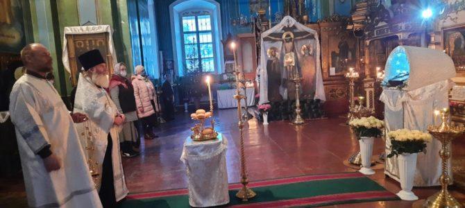 Великое повечерие и утреня накануне праздника Рождества Христова