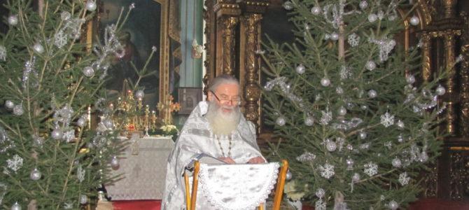 Праздничный Рождественский молебен