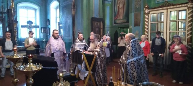 Таинство Соборования состоится в понедельник 29 марта