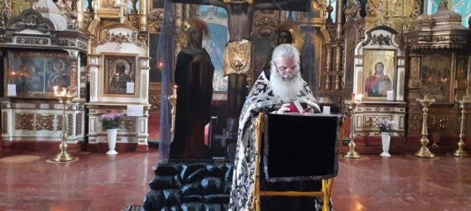 Первая Пассия отслужена в Свято-Троицком Архиерейском подворье г.Ирбит