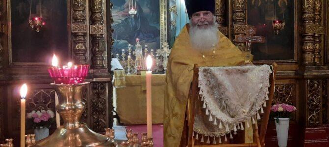 Божественная литургия и молебен в Неделю 7-ю по Пятидесятнице