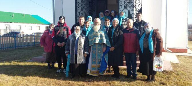 Престольный праздник в храме в честь Покрова Божией Матери в д.Никитина Ирбитского района